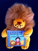 Daniele nella fossa dei leoni - Libretto con pupazzo a forma di leone