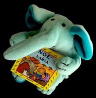 Noè e l'arca - Libretto con pupazzo a forma di elefantino (Copertina rigida)
