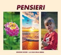 Calendario Pensieri 2019 - Calendario da appendere con spazio per appunti
