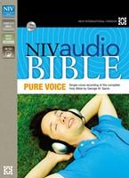 NIV AUDIO BIBLE PURE VOICE 66 CD SET (Borsa Porta CD)
