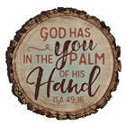 Calamita God has you in the palm of His Hand