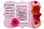 """Quadro """"Thank you Jesus"""" - Sagomato (SGM036)"""