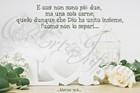 """Quadro """"Love - Matteo 19:6"""" - Rettangolare piccolo (RTN127)"""