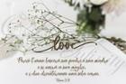 """Quadro """"Love - Efesini 5:31"""" - Rettangolare piccolo (RTN137)"""