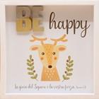 Quadro in legno Be happy Neemia 8:10 (#422)