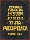 Quadro in metallo Numeri 6:25